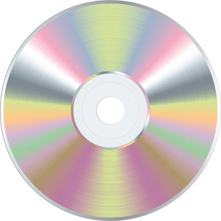 blank CD or DVD disc