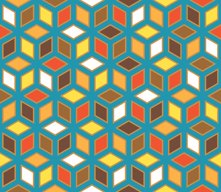 quadrant: vector abstract geometric seamless repeating wallpaper