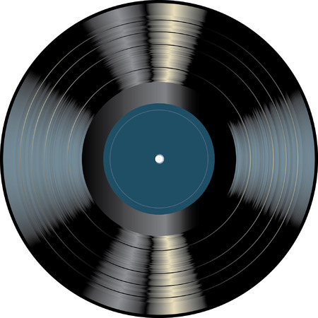 obsolete: blank vinyl record