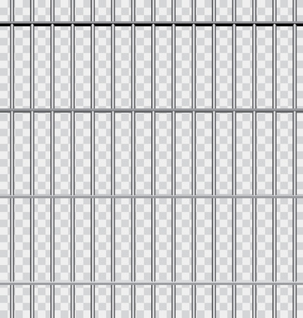 vector background with jail bars