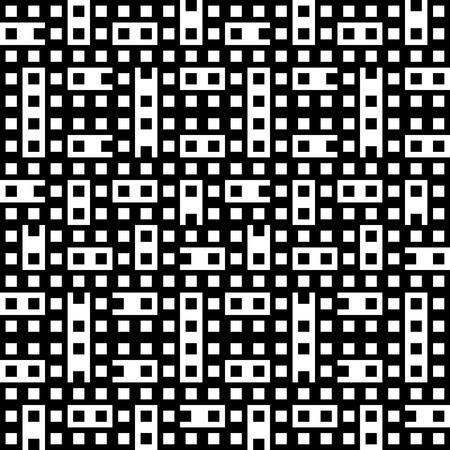 seamless geometric: vettore astratto seamless sfondo geometrico