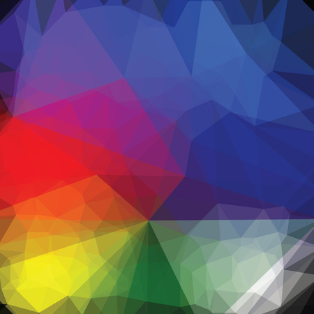 colorful abstract background: abstract background with colorful triangles Illustration