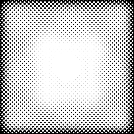 vector raster background: vector dotted halftone raster background