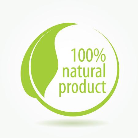 productos naturales: abstracto para los productos de la ilustración naturales