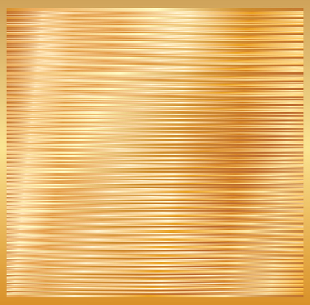 golden shiny layout, vector illustration, stripped golden background