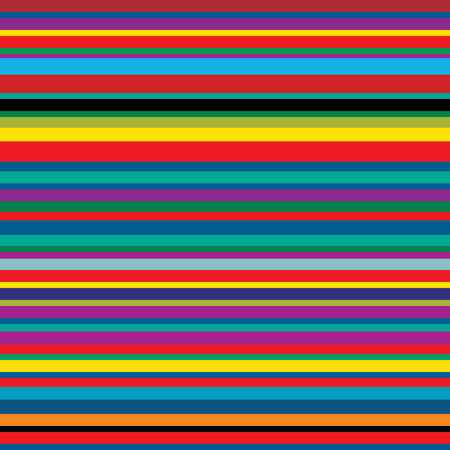 seamless repeating background with color strips, vector abstract illustration Illustration