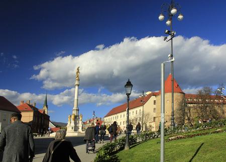 Kaptol in Zagreb, capital of Croatia, Europe
