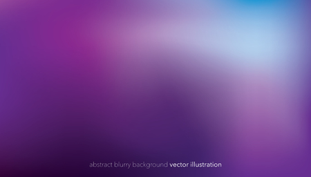 Abstract blurry gradient mesh background in bright purple colors. Colorful smooth soft banner template. Creative vibrant vector illustration
