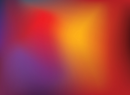 Abstract blurry gradient mesh background in bright purple and red colors. Colorful smooth soft banner template. Creative vibrant vector illustration 矢量图像