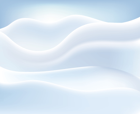 snowy landscape, abstract vector background Фото со стока - 125016670