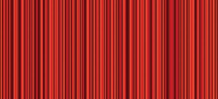 vector abstract empty stage with red velvet curtain, seamless repeating background Stock fotó - 129274297