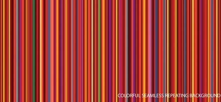 abstract colorful striped background, seamless repeating illustration