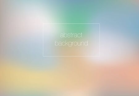 abstract blurry composition in bright colors 矢量图像