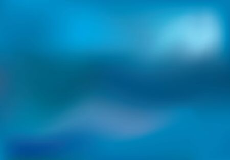 abstract blurry composition in bright blue colors