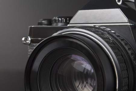 old photo: Old photo analog camera
