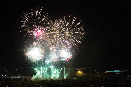 Festival of fireworks in Zagreb that lasts for three days