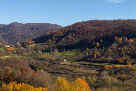 Beautiful countryside in Croatian Zagorje