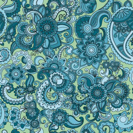 Naadloze kleurrijke komkommerspatroon. Perfect voor het afdrukken op stof of papier. Vector Stock Illustratie