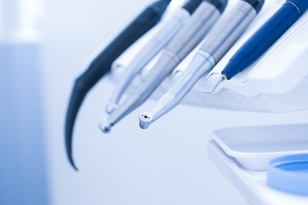 Dental practice - specialist tools, drills, handpieces and laser photo