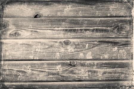 Faded mur de la maison en bois vintage pour fond Banque d'images