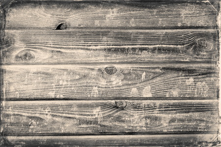 Faded vintage wooden house wall for background Banco de Imagens