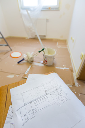 Planning to renovate and paint home photo
