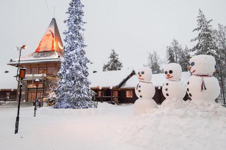 finland: Santa village, Rovaniemi, Finland
