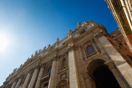 st  peter's basilica pope: Saint Peter Stock Photo