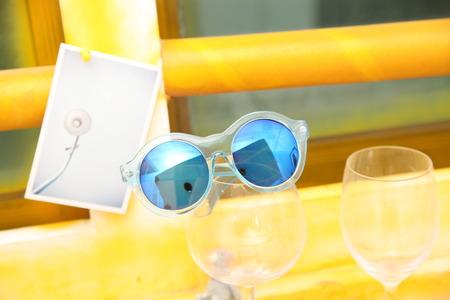 temperament: Fashion sunglasses