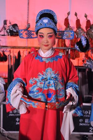 opera: china opera artist Editorial