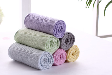 bath towel: bath towel Stock Photo
