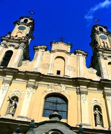 Old church in Vilnius