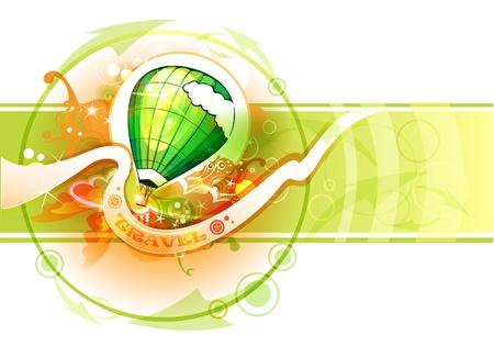 inflar: Vuelos en globo
