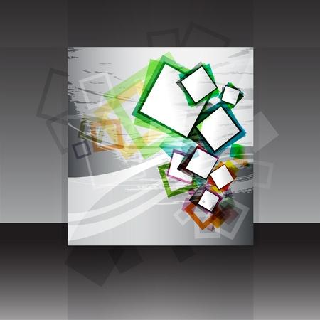 Vector flyer or cover design  Illustration