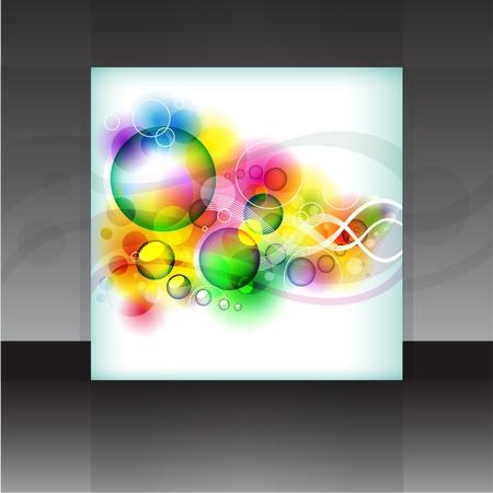 Vector flyer or cover design element background  Illustration