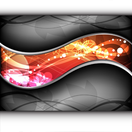 Abstract EPS10 vector layout  Illustration