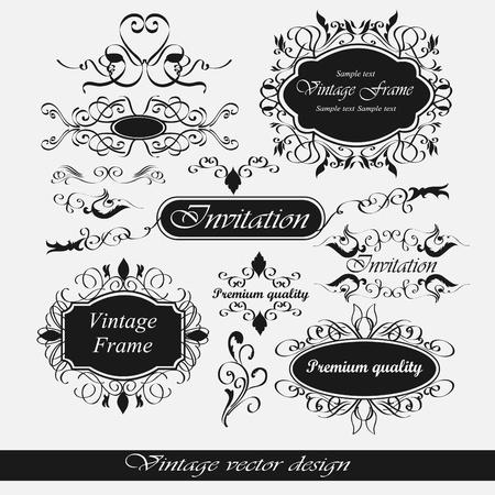 set  calligraphic design