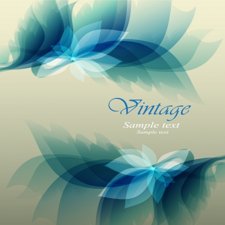 Abstract floral background Stock Vector - 13631484