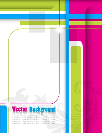 Abstract colorful background Stock Vector - 14310195