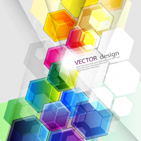 abstract vector design  Illustration
