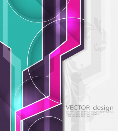 designed: Abstract design