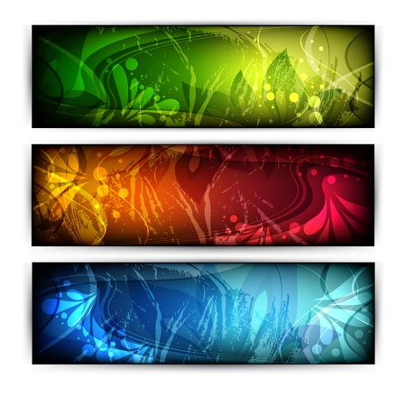 website headers  Stock Vector - 14409979