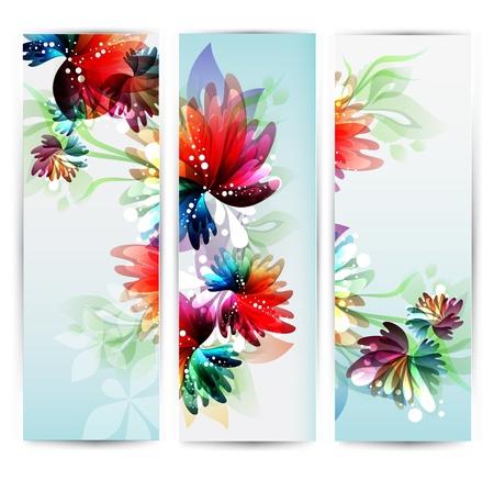 collection vertical flower Headers  Çizim