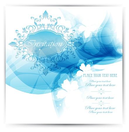 certificate frame: Invitation design  Illustration