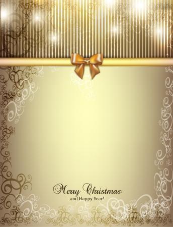 christmas menu: holiday design Illustration