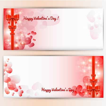 Valentine s day background   Stock Vector - 17450865