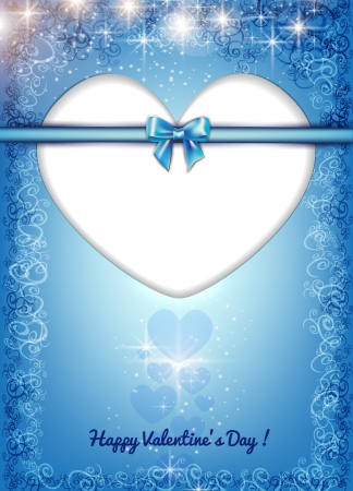 pink bow: Valentine s day background