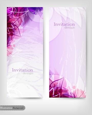 招待状のデザイン