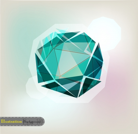 Colorful geometrical background Vector
