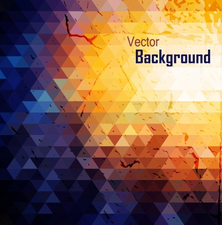 Colorful abstract geometric background
